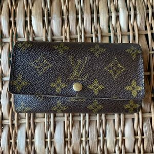 Auth Vintage Louis Vuitton Bifold Wallet Monogram